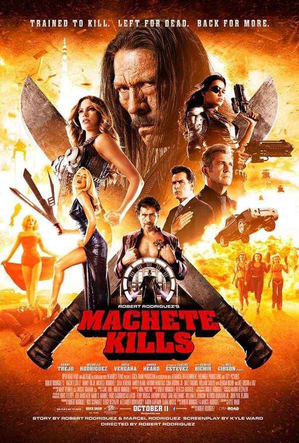 Machete Kills final poster