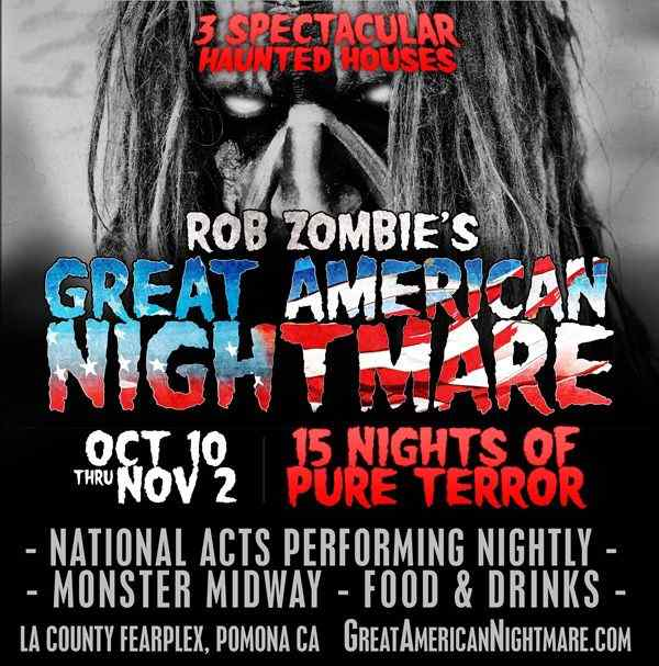 Rob Zombie's Great American Nightmare poster