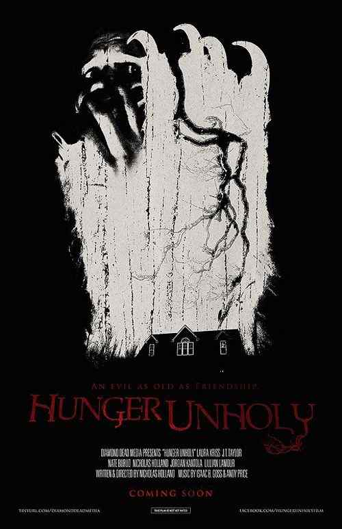 Hunger Unholy movie poster 2