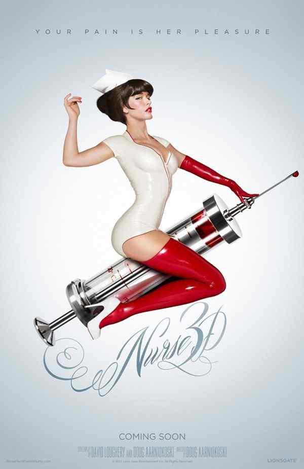 Nurse 3D movie poster 2