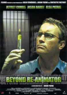 Beyond Re-Animator movie poster