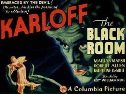 The Black Room movie poster
