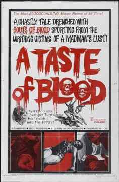 A Taste of Blood movie poster