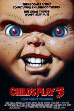 Child's Play 3 movie posster