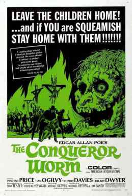 The Conqueror Worm movie poster