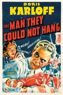 The Man They Could Not Hang movie poster