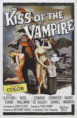 Kiss of the Vampire movie poster