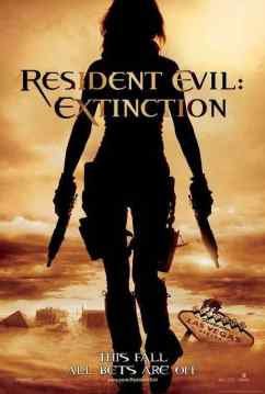 Resident Evil Extinction movie poster