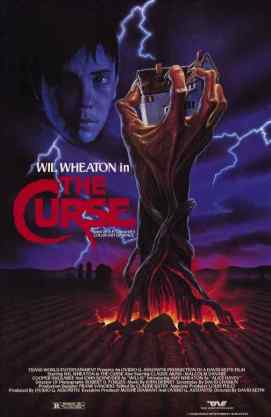 The Curse 1987 movie poster