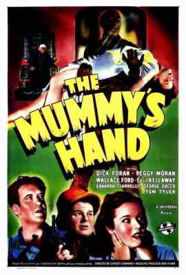 The Mummy's Hand movie poster 2