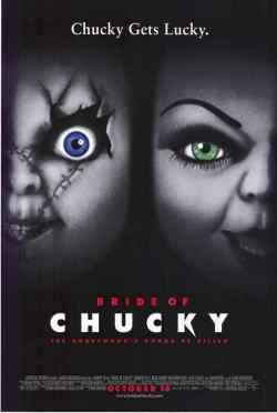 Bride of Chucky movie poster