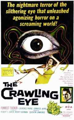 The Crawling Eye movie poster