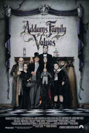 Addams Family Values movie poster