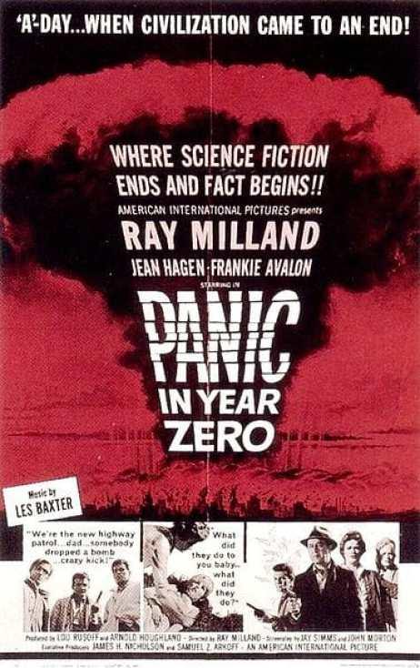 Panic in Year Zero movie poster
