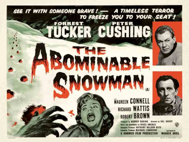 The Abominable Snowman quad