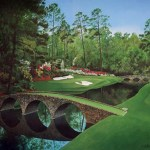 Amen Corner at Augusta National.