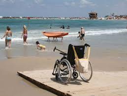 נגישות בחוף הים