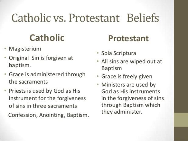 קתולים - פרוטסטנטים