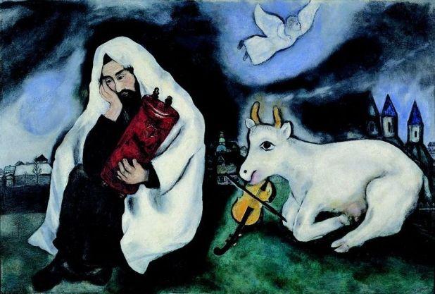 מארק שאגל - אמנות, יוונות, ויהדות