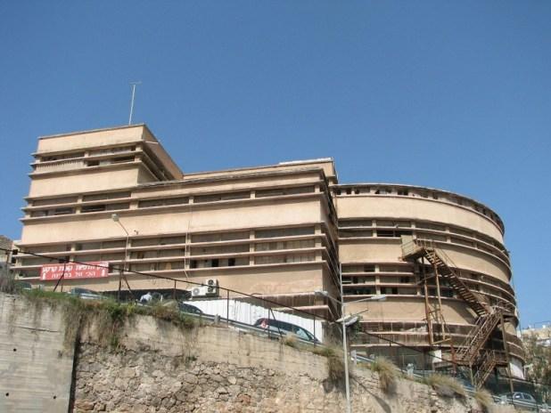 מבנה שוק תלפיות, מבט לכיוון דרום-מערב צילום:Hanay
