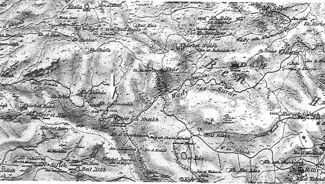 חורבת טורה וסביבתה, מפת ה-PEF ,גיליון XgiI (האחר מסומן בחץ)