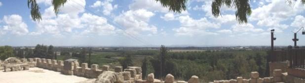 """עמק חפר נשקף מ""""מצפה רמי"""" בבית ראשונים (ביתן אהרן) צילום: אלי שני שנילי"""