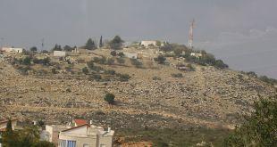 גבעת ג'ורדיח בערב אל עראמשה על גבול לבנון צילום:Avi1111  Dr. AvishaiTeicher