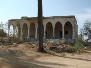 -בית שהין העליון באל-קוביבה. אחד משני שרידים של הכפר צילום:Danny Gershoni