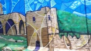 החומה המצוירת - צילום: גבי זוהר