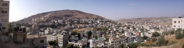 East of Nablus and Balata Albalad