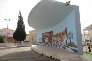 מתנ״ס דבוריה - במת האמפיתיאטרון