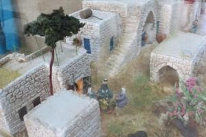 דגם מבנה הכפר הערבי הפלסטיני