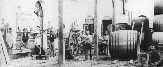 ייצור יין בזכרון יעקב בשנות ה-90 של המאה ה-19