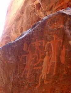 Petroglyphs at Wadi Rum צילום:Heji Kim