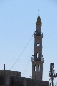 המסגד החדש שמעיר את תושבי מורשת - שימו לב למינרט מרובה