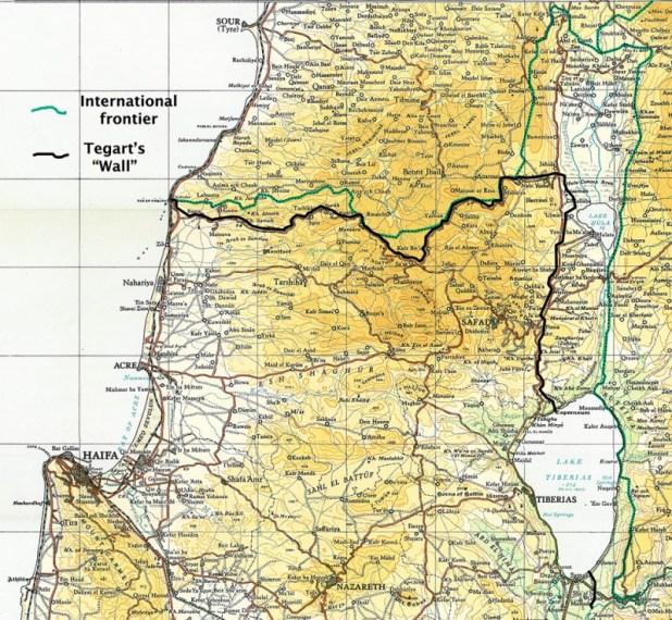 """Tegart's Wall"", Palestine 1938–1940"
