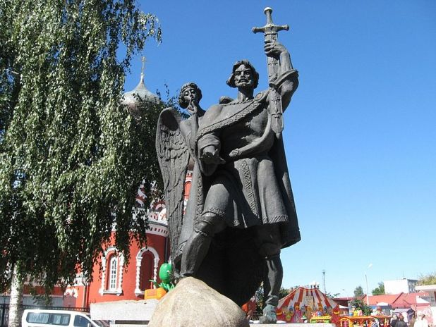 Monument to Prince Boris Borisov neur:http://forum.globus.tut.by/viewtopic.php?t=2912