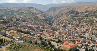 Zahlé, the capital of the   Public Domain - Beqaa Valley