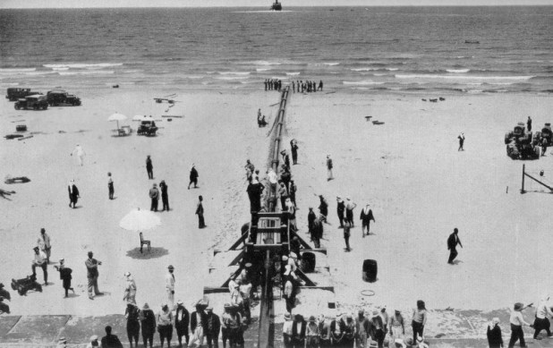 Kirkuk–Haifa oil pipeline west end, Haifa, 1938 Public Domain