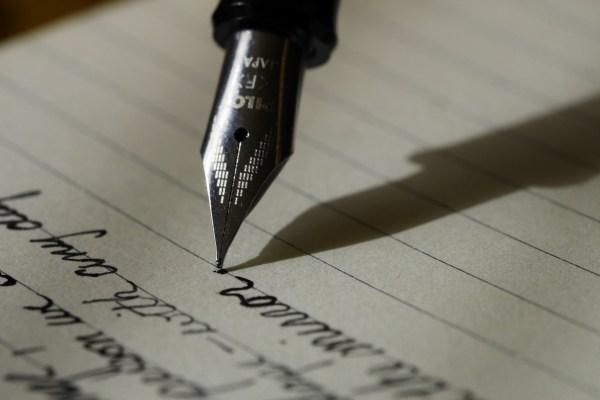 The Art of the Handwritten Note, Part 1