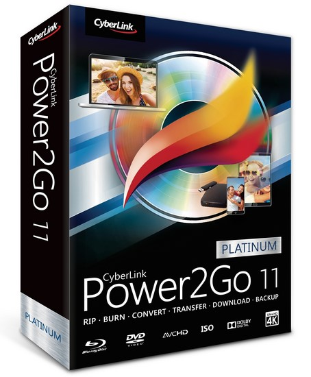 Cyberlink Power2go Platinum v11.0.1013.0.Multilingual