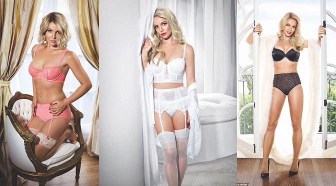 "Britney Spears – ""Intimate"" Lingerie SS15 Collection"