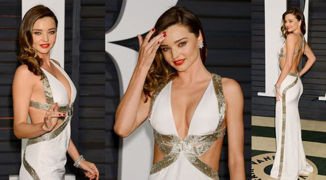Miranda Kerr – Vanity Fair Oscar Party in Hollywood