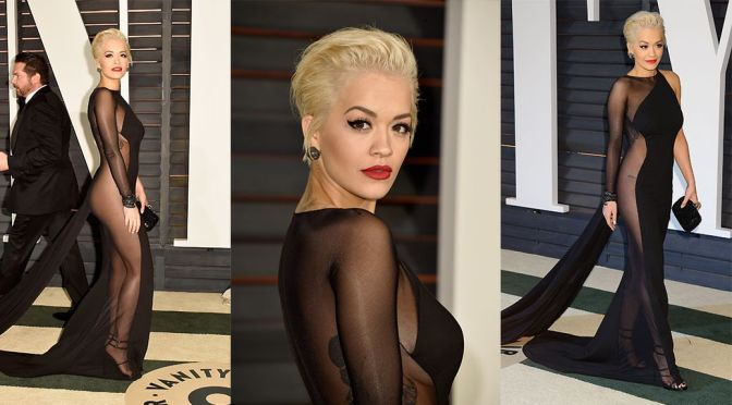 Rita Ora – Vanity Fair Oscar Party in Hollywood