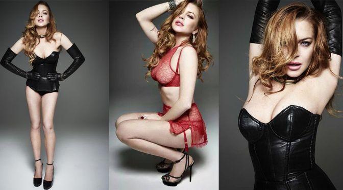 Lindsay Lohan – Homme Style Magazine (Spring/Summer 2015)