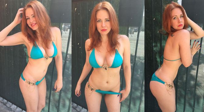 Maitland Ward – Bikini Photoshoot in Santa Monica
