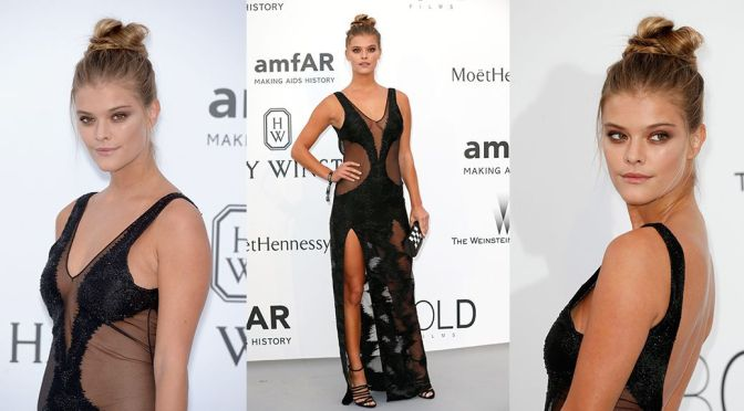 Nina Agdal – amfAR's 22nd Cinema Against AIDS Gala in Cannes