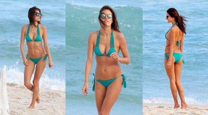 Alessandra Ambrosio – Bikini Candids in Rio