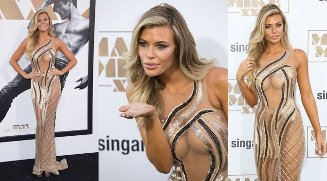 "Samantha Hoopes – ""Magic Mike XXL"" Premiere in Hollywood"