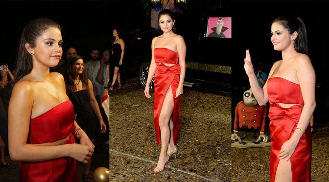 "Selena Gomez – ""Hotel Transylvania 2"" Photocall in Cancun"